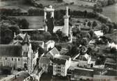 """18 Cher / CPSM FRANCE 18 """"Mehun sur Yèvre, l'église et le château"""""""