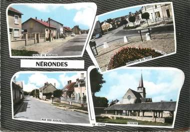 "/ CPSM FRANCE 18 ""Nérondes"""