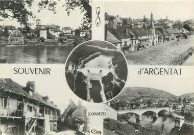 """/ CPSM FRANCE 19 """"Souvenir d'Argentat"""""""