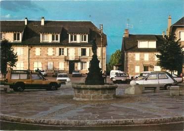 "/ CPSM FRANCE 19 ""Egletons, la place du Marchadial"""