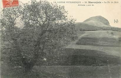 """CPA FRANCE 48 """"Marvejols, le Pic du Midi"""""""