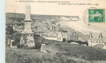 "CPA FRANCE 14 ""Arromanches"" / MONUMENT"
