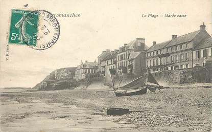 """CPA FRANCE 14 """"Arromanches, la plage à marée basse"""""""