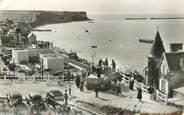 """14 Calvado CPSM FRANCE 14 """"Arromanches Les Bains, port de la libération"""" / TANK"""