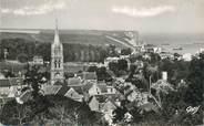 """14 Calvado CPSM FRANCE 14 """"Arromanches Les Bains, port de la libération, vue d'ensemble sur la falaise de Tracy"""""""