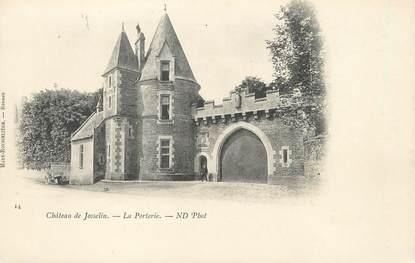 """CPA FRANCE 56 """"Château de Josselin, la porterie"""""""