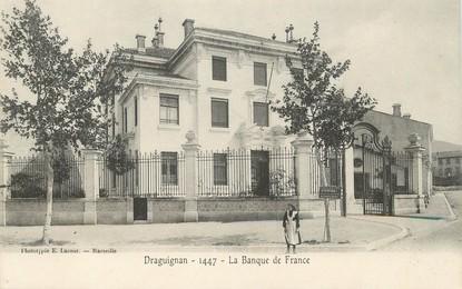 "CPA FRANCE 83 ""Draguignan, la banque de France"" / BDF"