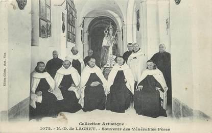 """CPA FRANCE 06 """"Notre Dame de Laghet, souvenir des Vénérables pères"""""""