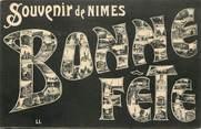 "30 Gard CPA FRANCE 30 ""Souvenir et bonne fête de Nîmes"""