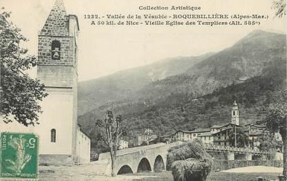 """CPA FRANCE 06 """"Roquebillière, vallée de la Vésubie"""""""