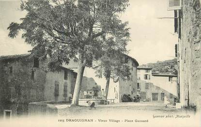 "CPA FRANCE 83 ""Draguignan, Place Gansard"""