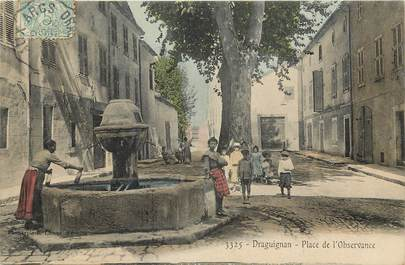 "CPA FRANCE 83 ""Draguignan, Place de l'Observance"""