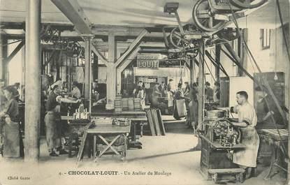 """CPA FRANCE 33 """"Bordeaux, chocolat Louit, un atelier de moulage"""""""