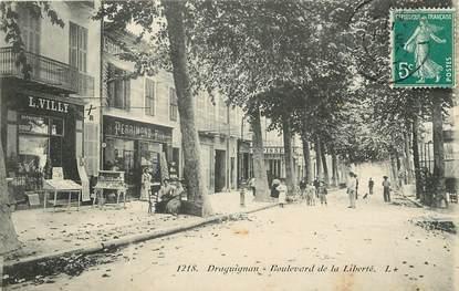 """CPA FRANCE 83 """"Draguignan, Bld de la Liberté"""""""