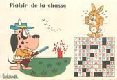 """Illustrateur CPSM ILLUSTRATEUR BARBEROUSSE """"Plaisir de la chasse"""""""