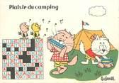 """Illustrateur CPSM ILLUSTRATEUR BARBEROUSSE """"Plaisir du Camping"""""""
