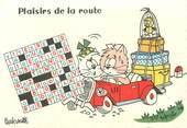"""Illustrateur CPSM ILLUSTRATEUR BARBEROUSSE """"Plaisir de la Route"""""""
