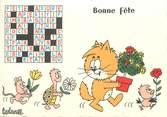 """Illustrateur CPSM ILLUSTRATEUR BARBEROUSSE """"Bonne Fête"""""""