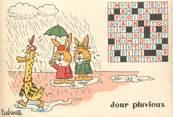 """Illustrateur CPSM ILLUSTRATEUR BARBEROUSSE """"Jour Pluvieux"""""""