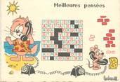 """Illustrateur CPSM ILLUSTRATEUR BARBEROUSSE """"...Meilleurs pensées"""""""