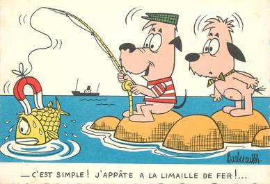 "CPSM ILLUSTRATEUR BARBEROUSSE ""...C'est simple"""
