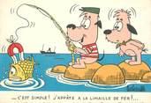 """Illustrateur CPSM ILLUSTRATEUR BARBEROUSSE """"...C'est simple"""""""