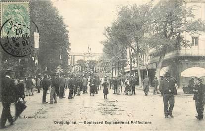 "CPA FRANCE 83 ""Draguignan, Bld Esplanade """