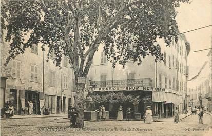 """CPA FRANCE 83 """"Draguignan, Place aux Herbes"""""""