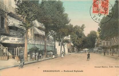 "CPA FRANCE 83 ""Draguignan, Bld Esplanade"""
