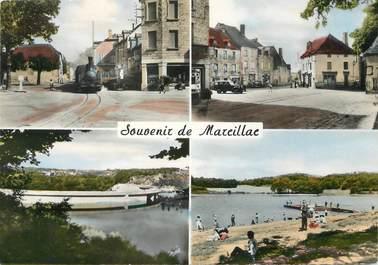 """CPSM FRANCE 19 """"Souvenir de Marcillac """""""