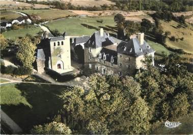 """CPSM FRANCE 19 """"Noailles, le château et l'église"""""""