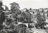 """19 Correze CPSM FRANCE 19 """"Treignac, vieux pont et quartier de la côte"""""""