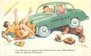 """Illustrateur CPSM ILLUSTRATEUR CHAPERON  """"Ce n'est pas un permis de conduire..."""""""
