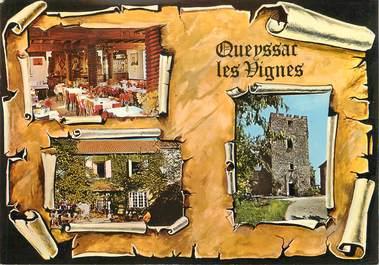 "CPSM FRANCE 19 ""Queyssac Les Vignes, hôtel restaurant Giscard"""