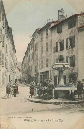 """CPA FRANCE 83 """"Draguignan, la grand'rue"""""""