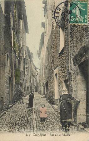 "CPA FRANCE 83 ""Draguignan, rue de la Juiverie"" / JUDAICA"