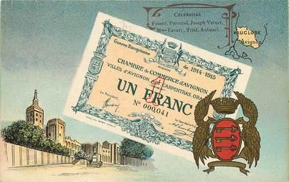 CPA FRANCE 84  / BILLET