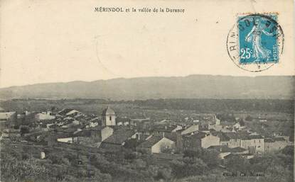 """CPA FRANCE 84  """"Mérindol, vue générale"""""""