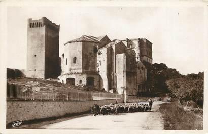 """CPSM FRANCE 13 """"Montmajour, Abbaye du XIIème siècle"""""""