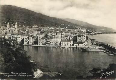 """/ CPSM FRANCE 20 """"Corse, Bastia, vue générale, le vieux port"""""""
