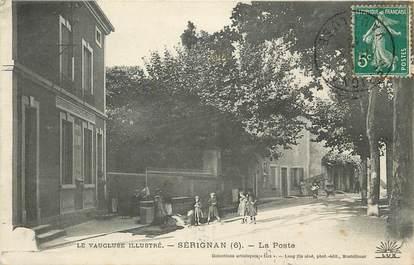 """CPA FRANCE 84 """"Sérignan, la poste"""""""