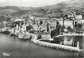 """20 Corse / CPSM FRANCE 20 """"Corse, Bastia, vue aérienne sur le môle et la citadelle"""""""