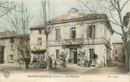 """84 Vaucluse CPA FRANCE 84 """"Sainte Cécile, la mairie"""""""