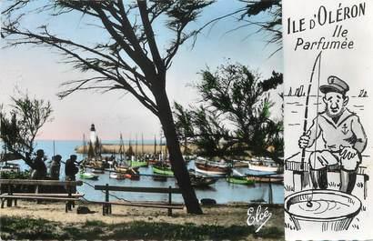 """/ CPSM FRANCE 17 """"Ile d'Oléron, le joli port de la Cotinière"""""""