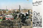 """17 Charente Maritime / CPSM FRANCE 17 """"Ile d'Oléron, arrivée des huitres"""""""