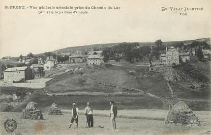 """/ CPA FRANCE 43 """"Saint Fronc, vue générale"""""""