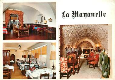 """CPSM FRANCE 84 """"Gordes, Hotel restaurant la Mayanelle"""""""