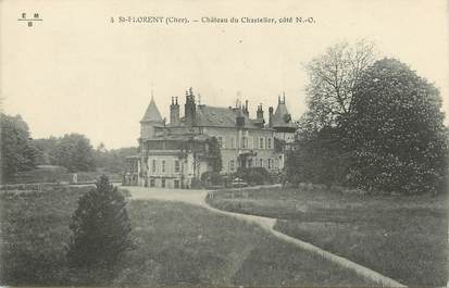 """/ CPA FRANCE 18 """"Saint Florent, château du Chastelier"""""""