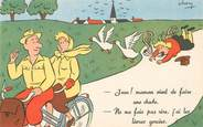 """Illustrateur CPA ILLUSTRATEUR CHEN """"Jean! Maman vient de faire une chute"""""""