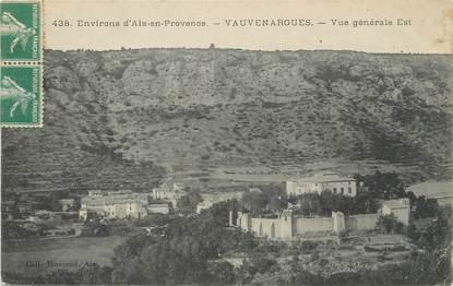 """/ CPA FRANCE 13 """"Vauvenargues, vue générale Est"""""""